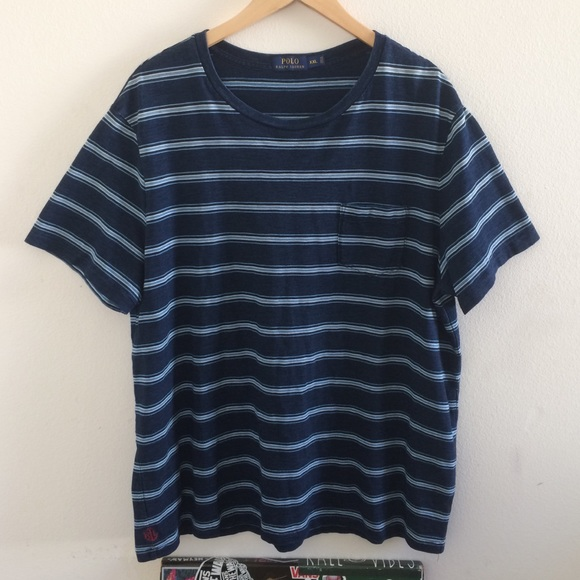 3bafd1d87f6113 Polo by Ralph Lauren Shirts | Polo Ralph Lauren Striped Pocket Tee ...
